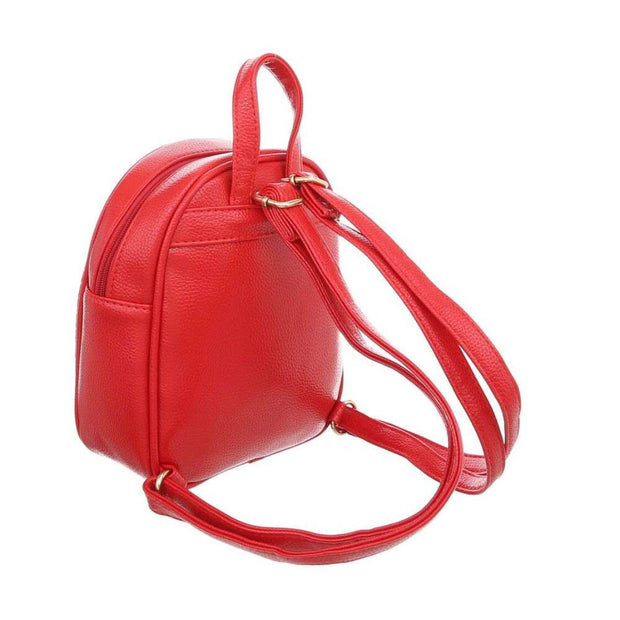 """SIMPLE"" Mini Backpack Red"