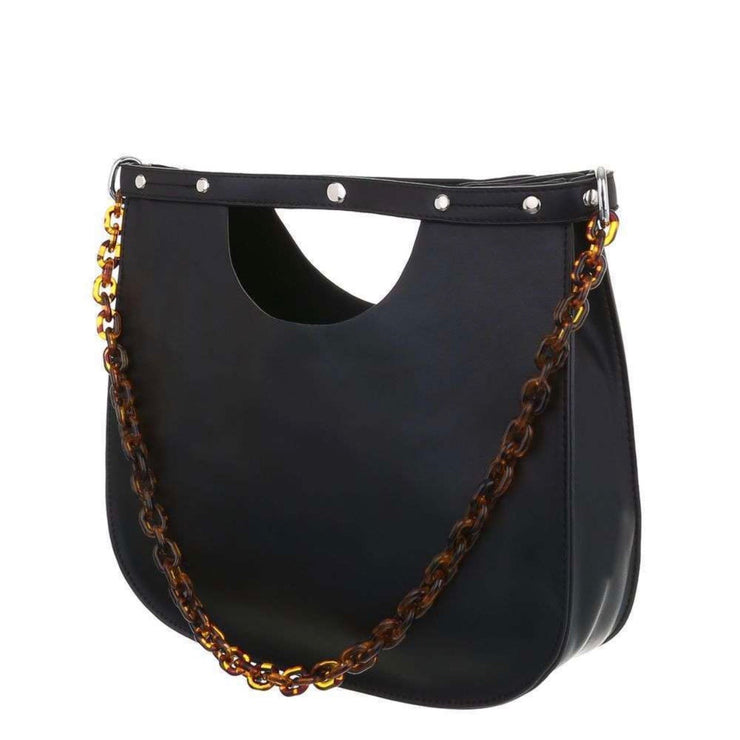 """CHAIN"" Black Bag"