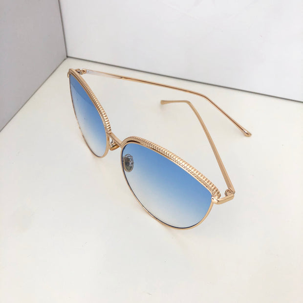 """SYDNEY"" Blue Sunglasses"