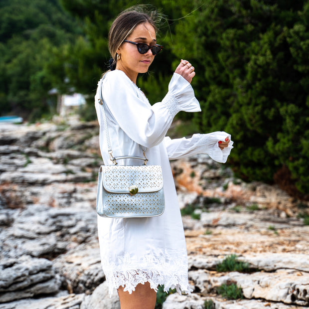 White Off-shoulder dress