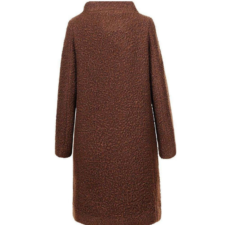 """MAARA"" Brown Coat"