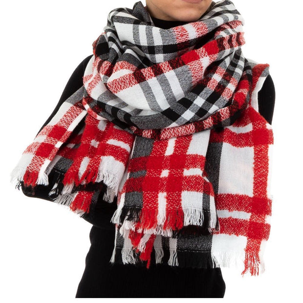 """TOP"" Red Scarf"