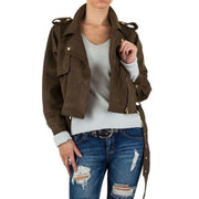 """JOELLE"" Jacket Brown"