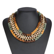 """KIRA"" Statement Necklace Army"