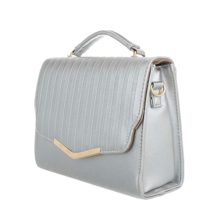 """SILVER LINES"" Bag"