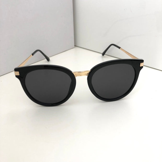 """SOFIA"" Black Sunglasses"