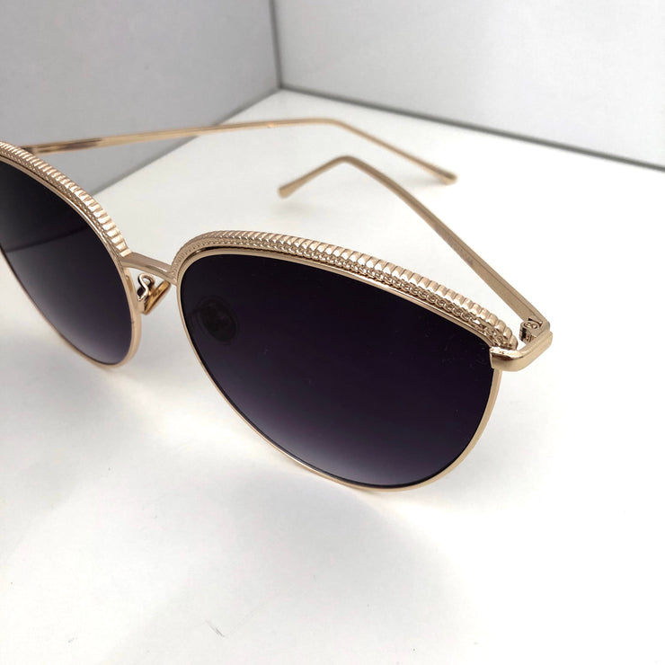 """SYDNEY"" Black Sunglasses"
