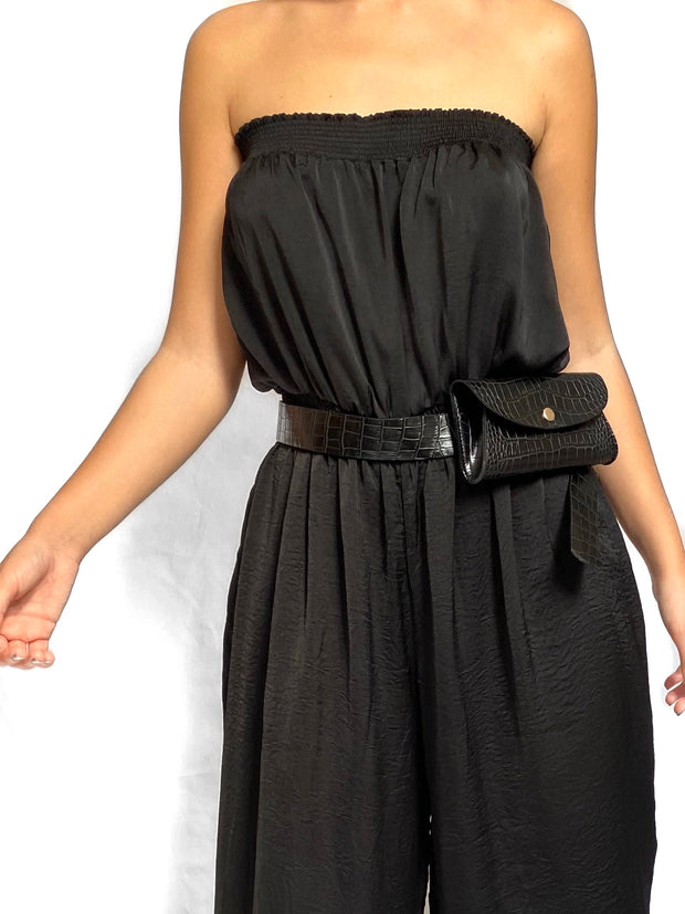 """SILKY BLACK"" Overall"