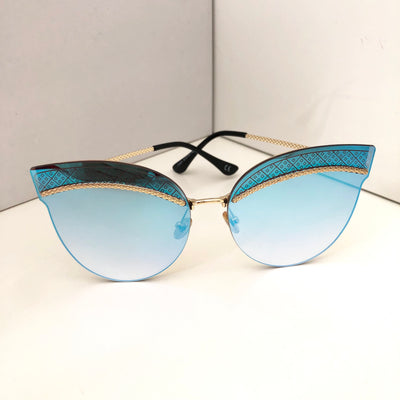 """SAN DIEGO"" Blue Sunglasses"