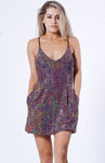 Selena Sequin Pocket Dress