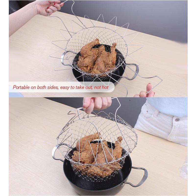 Multi-Function Folding Basket