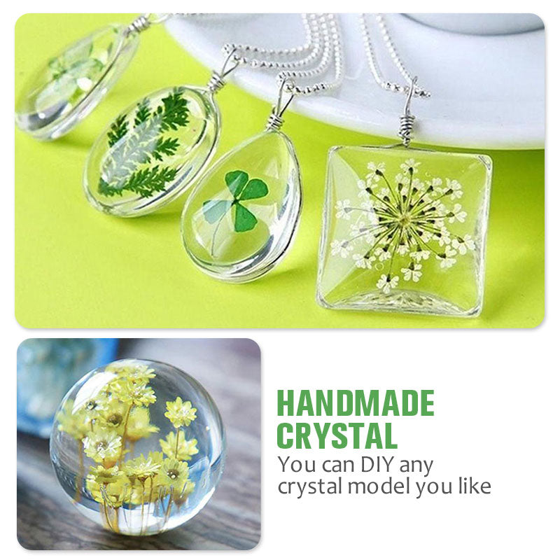 Handmade Crystal Glue Mold Set (83 Pcs) – misandale