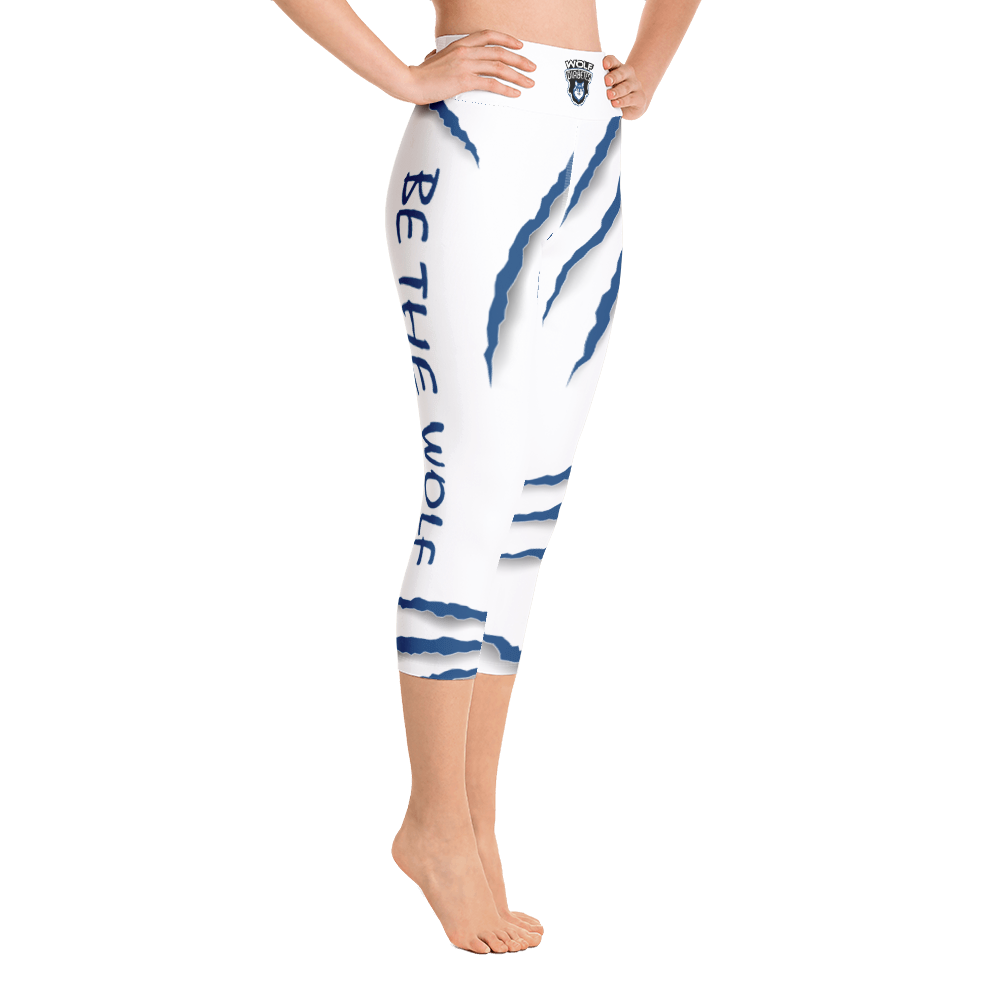 Be The Wolf Capri Yoga Pants