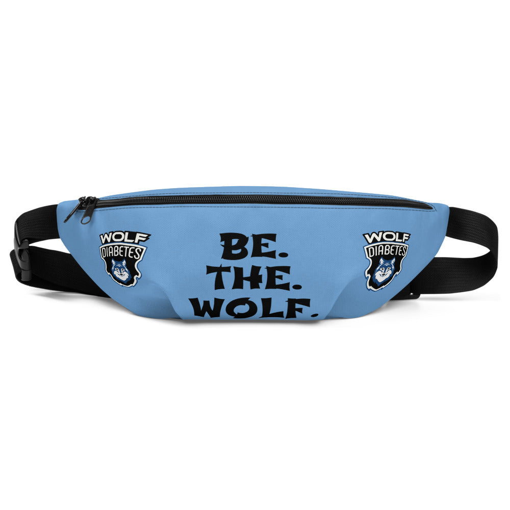 Be The Wolf Diabetic Supplies Bag/Fanny Pack
