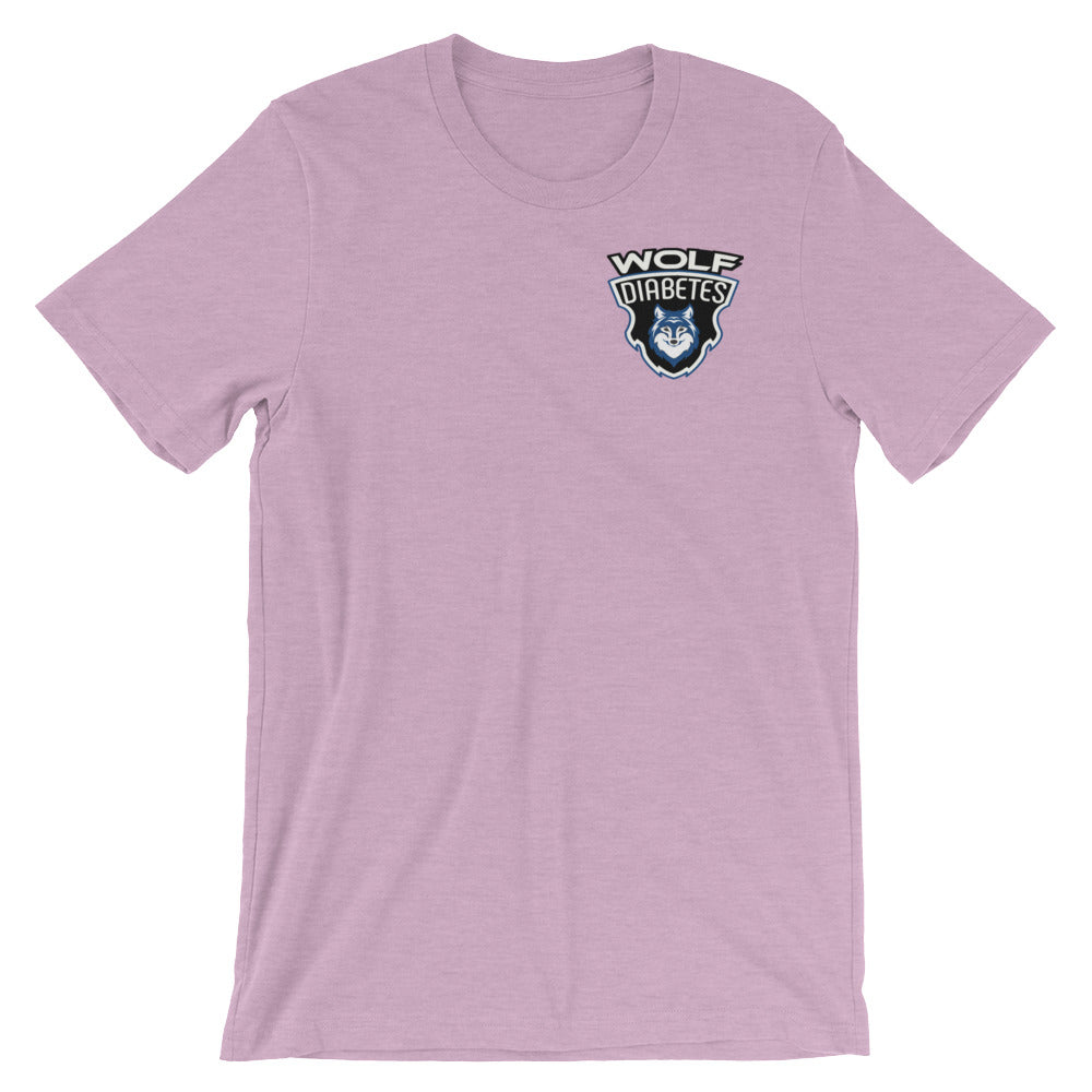 Wolf Diabetes Classic Tee
