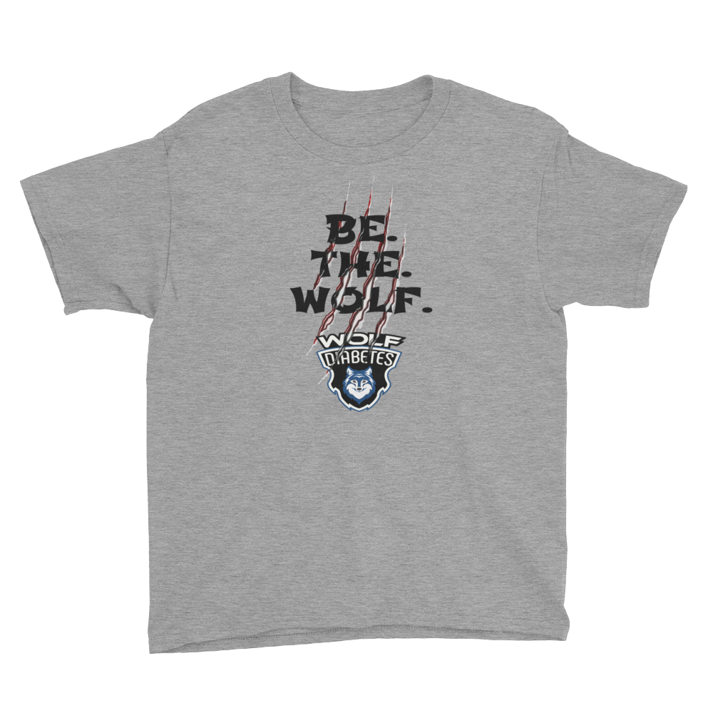 Be The Wolf Slashed YOUTH Tee