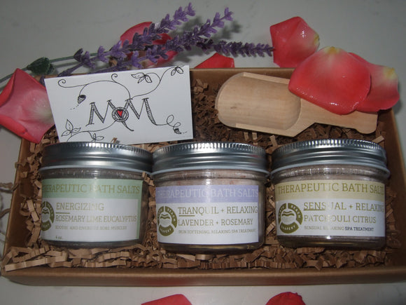GIFT SET - Bath Salts - Soothing Luxury