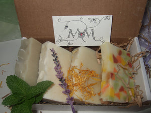 GIFT SET - Sampler of Natural Soap Bars