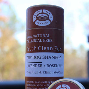 Dog Dry Shampoo Powder - Lavender + Rosemary