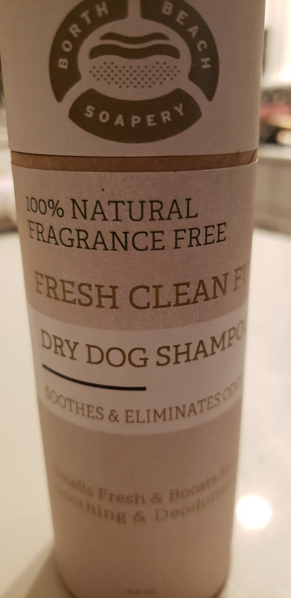 Dog Dry Shampoo Powder - FRAGRANCE FREE