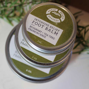 Foot Balm - Rosemary + Tea Tree + Frankincense