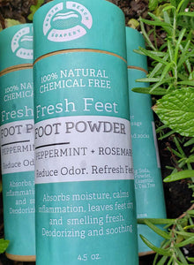 Fresh Feet Foot Powder - 100% Natural 4.5 oz