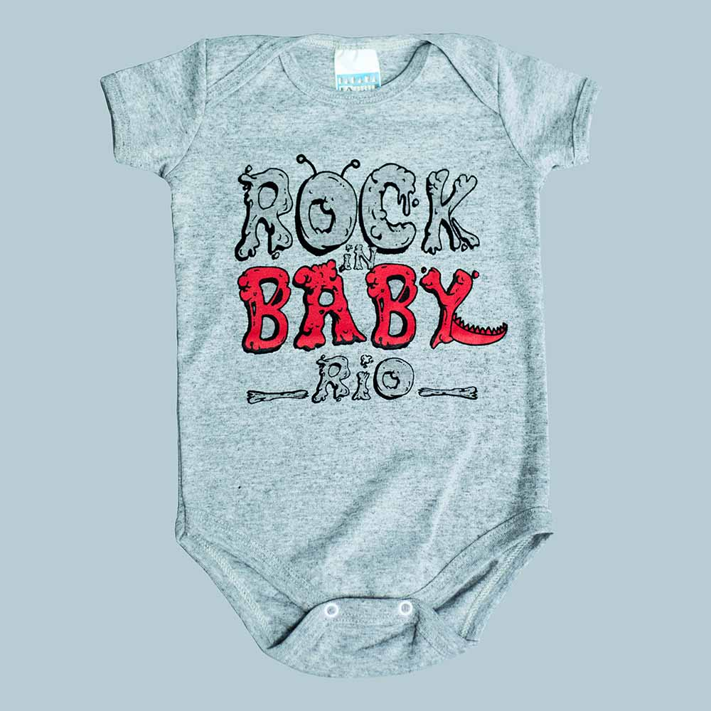 Body Mescla Rock Baby