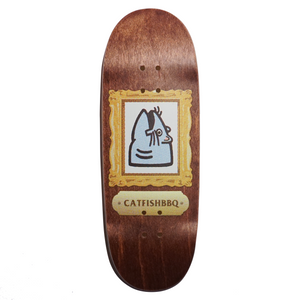 Artshow '92 Fingerboard Deck (Dyed Brown)
