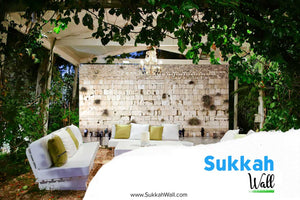 8' x 10' Custom Printed Sukkah Wall