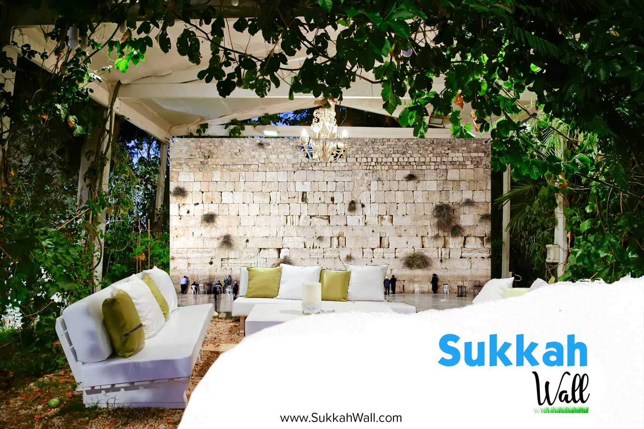 8'x8' Custom Printed Sukkah Wall
