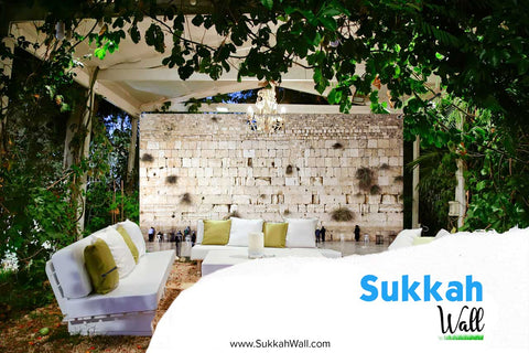 8' x 20' Custom Printed Sukkah Wall