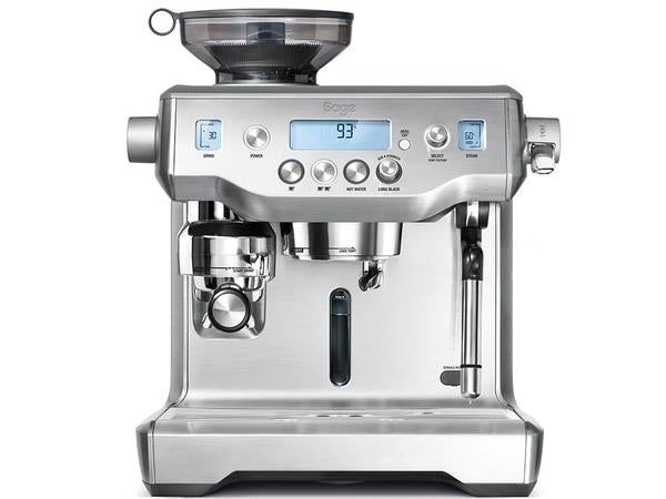 Sage Oracle Black/Silver Espresso Machine