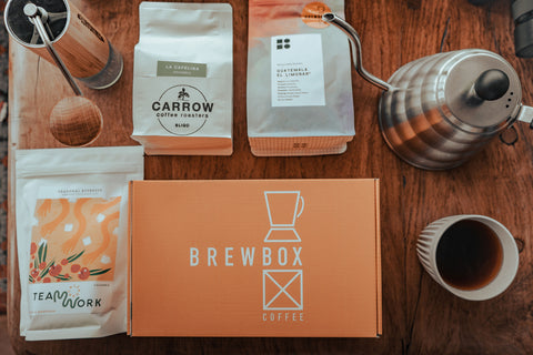 Filter & Espresso Coffee Subscription Box