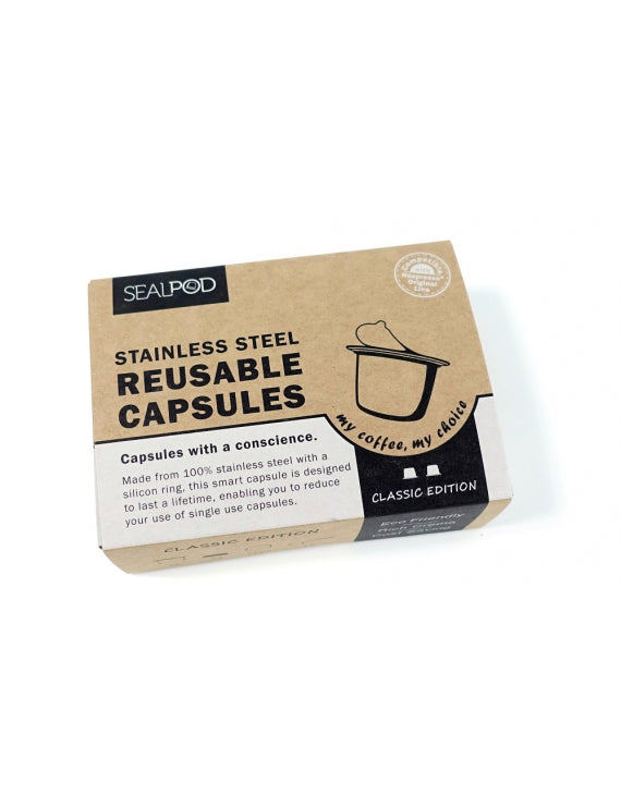 Sealpod Reusable Nespresso pod x 2