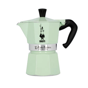 Bialetti Moka Express in Mint Green - 3 Cup