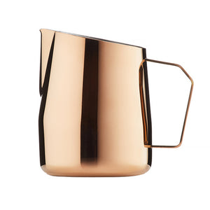 Barista & Co. Dial In Milk Jug - Rose Brass - 420ml