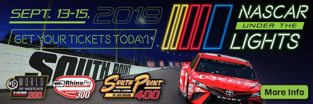 It's Race Week in Las Vegas beginning Oct 13th!  GNARLY Jerky at the South Point 400!