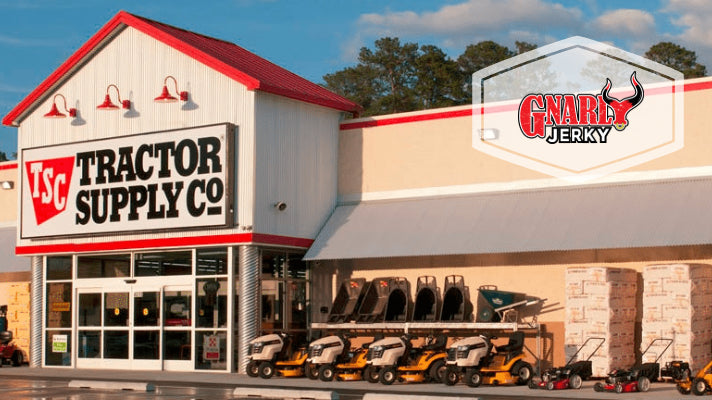Gnarly Jerky is now available at select Tractor Supply locations