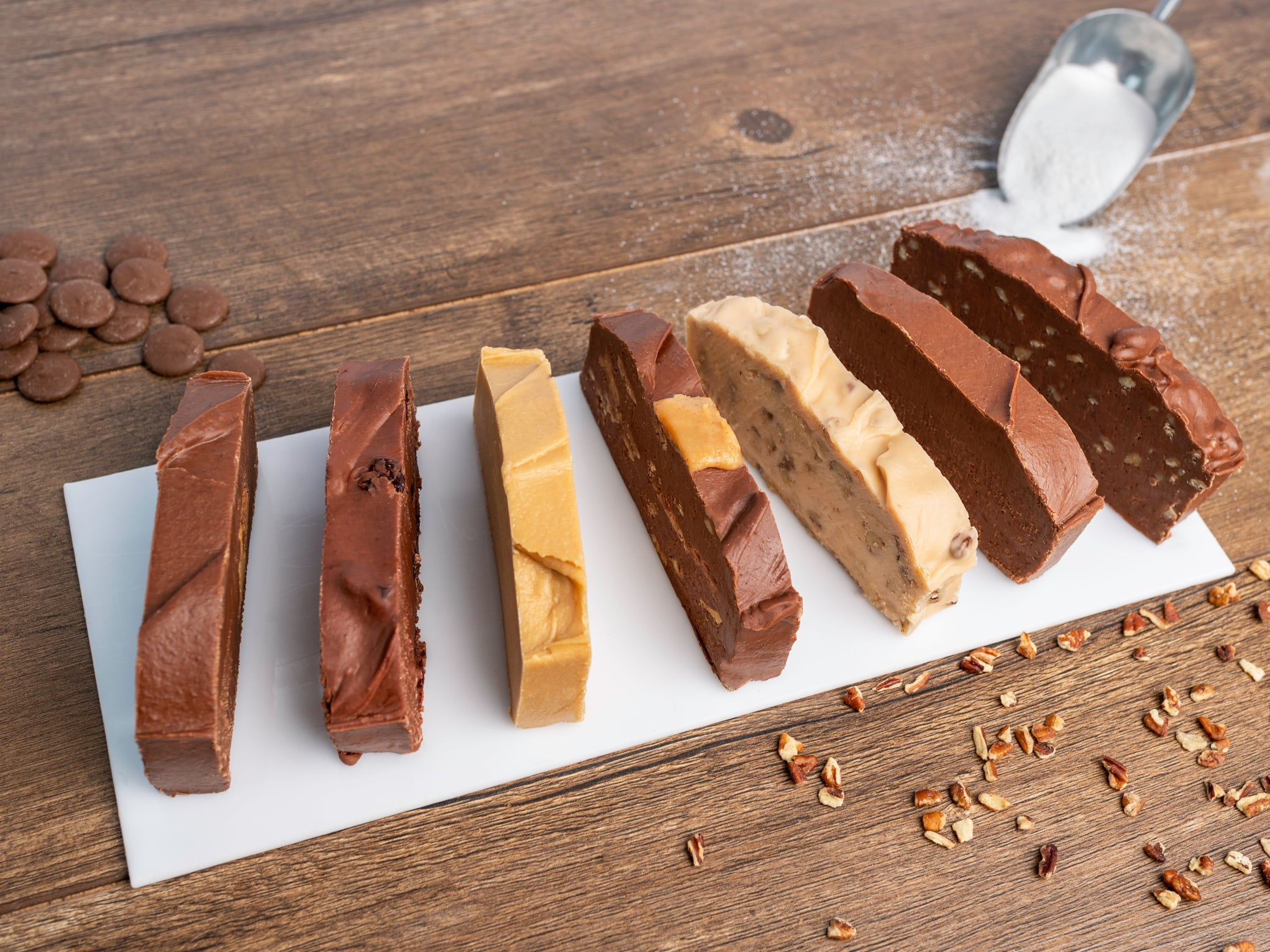 Single Slice Fudge Box (1/2 lb)