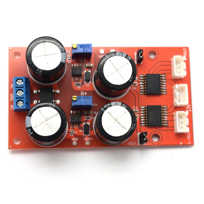 Dual channel DRV134 Unbalanced to Balanced Board - Analog Classics