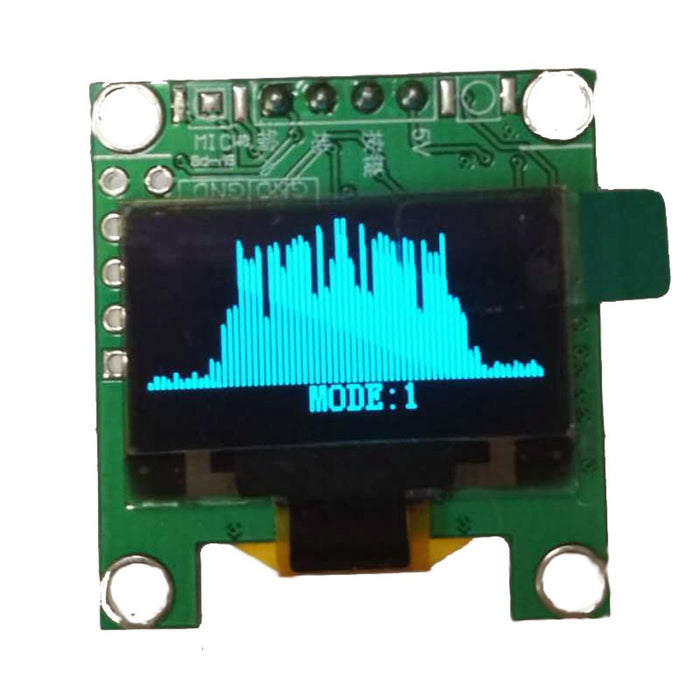 OLED VU/Spectrum/Waveform Meter - Analog Classics