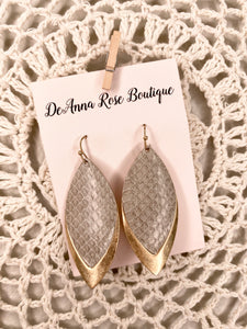 Metal Snake Earrings