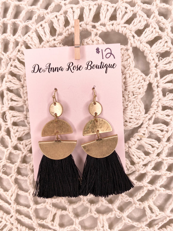 Boca Tassel Earrings