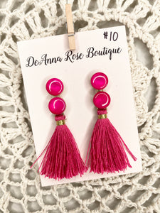 West Palm Pink Earrings