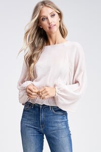 Beauty Top (Blush)
