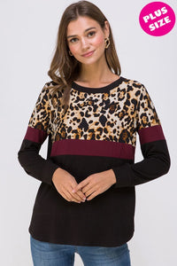 Extended Size Cheetah Top