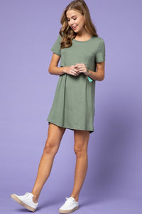 T-Shirt Dress (Army)