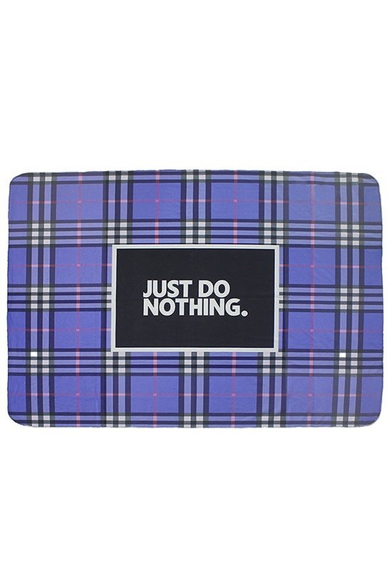 Just Do Nothing Blanket