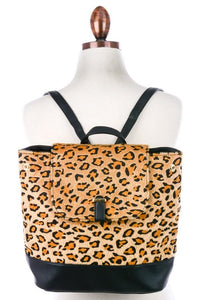 Carried Away Cheetah Backpack