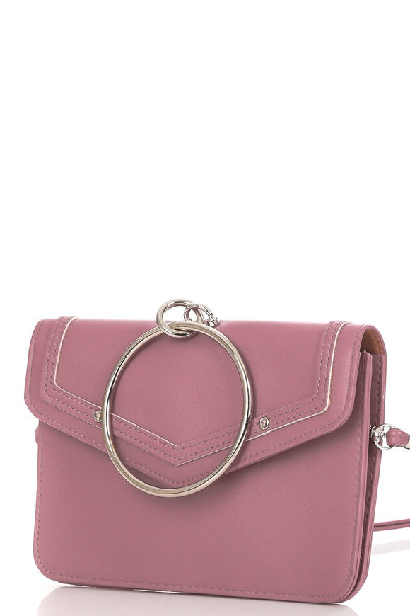 On The Go Crossbody (Mauve)